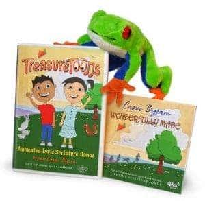TreasureToons DVD Helps Your Children to Memorize Scripture